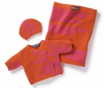 Newborn Set TOM pinkorange