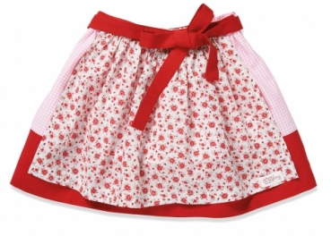 Kinderrock NIA red/flowers