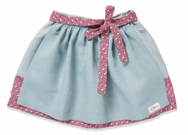 Kinderrock NIA mint/pink hearts