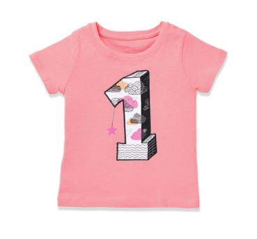 Birthdayshirt GIRLS #1 rose von nyani