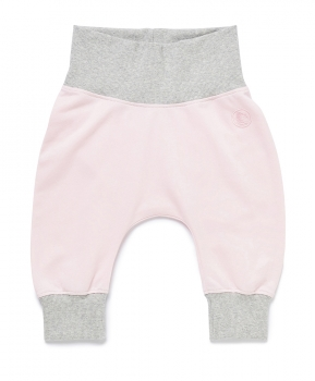 Baby Hose ROLL DOWN Pants chalk pink von nyani