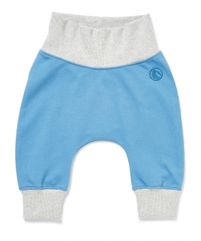 Baby Hose ROLL DOWN PANTS himmelblau