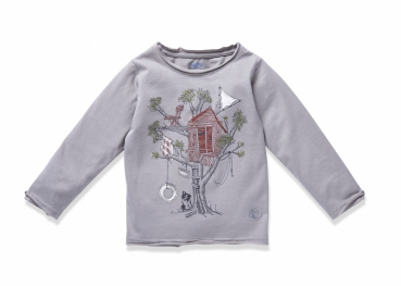 Langarmshirt TREEHOUSE frost grey