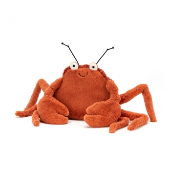 "Stofftier Krebs ""Crispin Crab Small"" von Jellycat in orange"