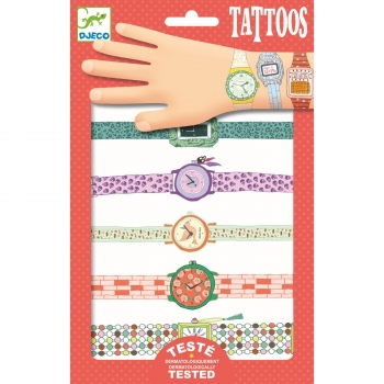 "Tattoos ""Wendy's watches"" von Djeco"