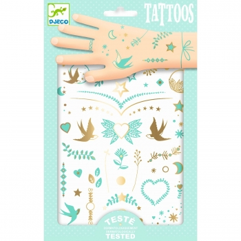 "Tattoos ""Lily's jewels"" von Djeco"