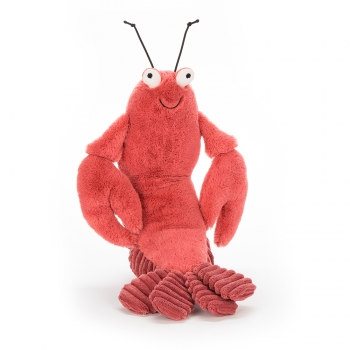 "Stofftier Hummer ""Larry Lobster Small"" von Jellycat in koralle"