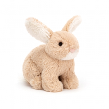 "Stofftier Hase ""Minilop Oatmeal Bunny Tiny"" von Jellycat in beige"