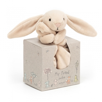 "Hase Schmusetuch in Box ""My Friend Bunny Soother"" von Jellycat in creme"