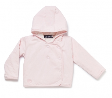 Baby Kapuzenjacke NOS BABYJOY HOODED JACKET rosa
