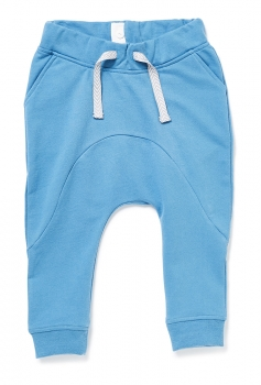 Sweat-Hose NOS ZAMPANO BLUE himmelblau mit blauem Badge
