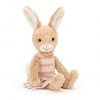 "Stofftier Hase ""Party Bunny"" in beige von Jellycat"
