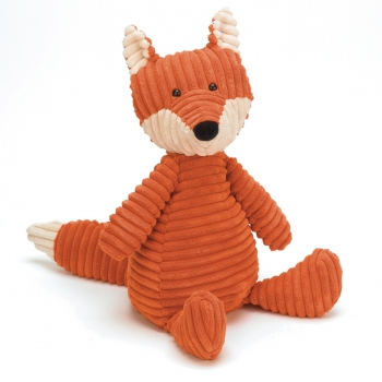 "Stofftier Fuchs ""Cordy Roy Fox Medium"" von Jellycat in rostrot"