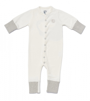 Baby Overall NYANI JUMP GREY offwhite/grau meliert