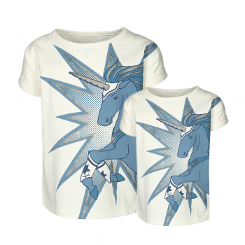 ULTIMATE UNICORNS T-Shirt-Set Mama und Mini-Me von nyani