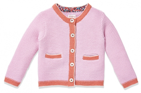new product d1f80 6b6bb Giacca bavarese LUCA II di cashmere rosa - nyani | made with ...