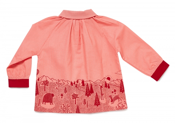 Bluse BLOUSE MY FOREST GIRL lachsfarben