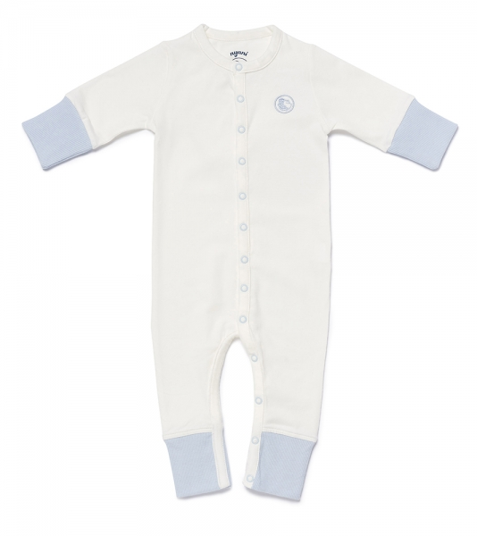 Baby Overall NYANI JUMP BLUE offwhite/hellblau