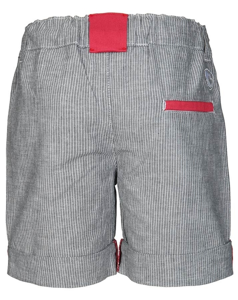 Shorts DANDY in grau mit roten Details