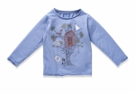 Langarmshirt TREEHOUSE faded denim