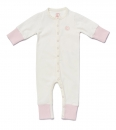 Baby Overall NYANI JUMP PINK offwhite/rosa
